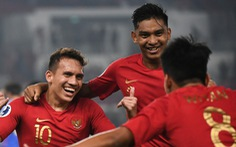 Indonesia thắng tưng bừng trận ra quân Giải U19 châu Á 2018