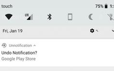Cách xem lại tin thông báo bỏ lỡ trên điện thoại Android
