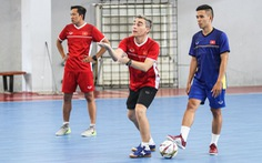 Tuyển futsal VN bị delay chuyến bay khi sang Thái Lan tập huấn