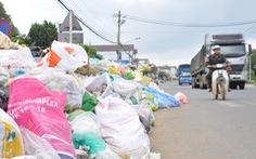 Nhà máy xử lý quá tải, thành phố Bảo Lộc tràn ngập rác
