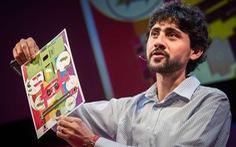 Thanh niên phát minh kính hiển vi làm từ giấy