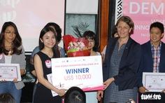 10.000 USD cho startup Quản lý vận tải