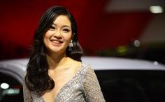 Những người đẹp hâm nóng triển lãm xe Vietnam Motor Show 2018