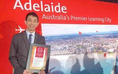Sinh viên ĐH Bách khoa TP.HCM được vinh danh tại Úc