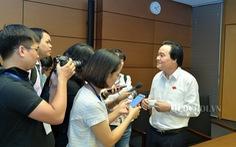 Bộ trưởng Phùng Xuân Nhạ: 'Tôi không nghĩ mình thiệt thòi về lá phiếu'