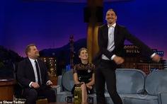 Ibrahimovic gây náo động ở chương trình truyền hình Mỹ