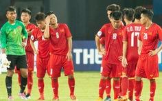 Việt Nam trắng tay rời Giải U19 châu Á 2018