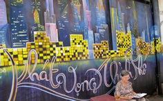 Tranh tường, graffiti và... bôi bẩn đường phố
