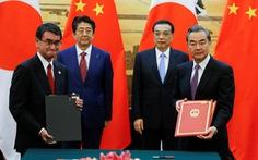 Trung - Nhật ký thỏa thuận 30 tỉ USD tại 'bước ngoặt lịch sử'