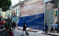 Vụ sập nhà sát hồ Gươm: Ngôi nhà không thuộc dự án khách sạn