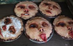 Bánh hình mặt người gây khiếp sợ cộng đồng mạng