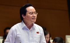 Vụ gian lận thi cử: Bộ trưởng Phùng Xuân Nhạ nhận trách nhiệm