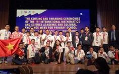 Việt Nam giành 8 huy chương vàng Olympic toán và Khoa học quốc tế
