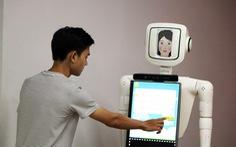'Cô giáo' robot dạy tiếng Anh của sinh viên