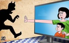 Tham gia mạng xã hội đừng tham gia phát tán cái xấu