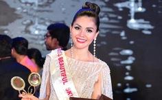 Kim Nguyên nhận danh hiệu Tân Hoa hậu châu Á Việt Nam 2018