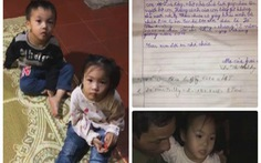 Cộng đồng mạng Hải Phòng tìm người thân cho hai trẻ nhỏ bị bỏ rơi