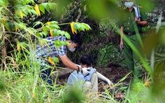 Phát hiện thi thể trong bãi cỏ nghi bị giết, đốt xác