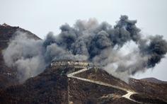 Ấn tượng với cảnh trạm gác trong DMZ nổ tung