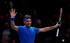 Đánh bại Anderson, Federer vào bán kết ATP Finals 2018