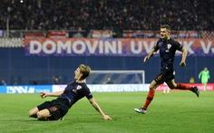Croatia thắng nghẹt thở Tây Ban Nha