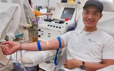 Giọt máu sẻ chia với bệnh nhi ung thư
