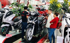 Tiêu thụ giảm nhưng người Việt vẫn mua khoảng 250.000 xe máy/tháng
