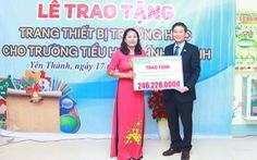 Chubb Life Việt Nam trao tặng thiết bị dạy và học tại 06 tỉnh miền Trung