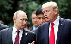 Ông Putin hi vọng gặp ông Trump ở G20