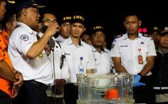 Hộp đen đầu tiên hỏng, Indonesia tìm hộp đen thứ hai