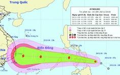 Áp thấp nhiệt đới mạnh cấp 7, cách miền Trung Philippines 300km