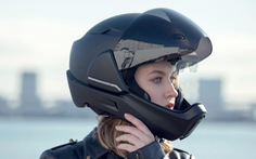 Mũ bảo hiểm thông minh có tầm nhìn 360°