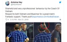 HLV tuyển Myanmar 'ấm ức' với HLV  Park Hang Seo