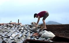 Dân vùng lốc xoáy đôn đáo giằng nhà chống bão