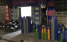 Quảng Ninh thu giữ hơn 200 bình chứa 'khí cười'