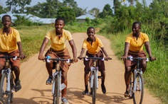 Những chiếc xe đạp độc đáo làm từ tre