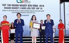 Ba năm SASCO đứng top 10 doanh nghiệp phát triển bền vững Việt Nam