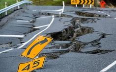 Động đất mạnh khiến hai đảo New Zealand xích gần nhau hơn