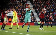 Đá bại Bournemouth, Arsenal áp sát tốp 4
