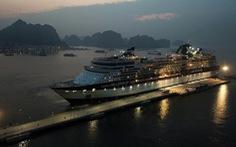 Cảng tàu khách quốc tế Hạ Long lần đầu đón tàu 3.000 khách