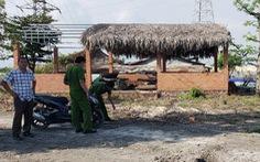 Vụ chôn chất thải: Công an tiếp tục lấy mẫu củng cố hồ sơ