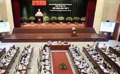 Khai mạc hội nghị Thành ủy TP.HCM lần thứ 22 - khóa X