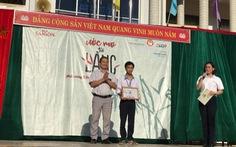 Học bổng của Bia Saigon đến với các em học sinh nghèo miền Trung