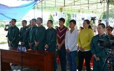 Thêm 9 bị cáo gây rối tại đội cảnh sát chữa cháy Phan Rí nhận án tù