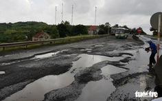 Yêu cầu khẩn trương sửa chữa quốc lộ 1 ở Phú Yên hỏng nặng