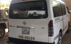 Nam thanh niên trộm xe của hợp tác xã vận tải