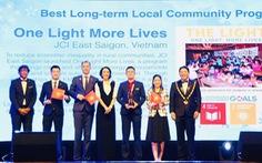 Dự án của JCI Vietnam giành giải thưởng quốc tế