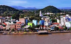 Thị xã biên giới Hà Tiên chính thức lên thành phố