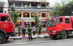 Cháy nhà hàng ở 'khu phố Tây' Nha Trang