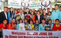 Xạ thủ Jin Jong Oh đến Việt Nam, sẽ gặp gỡ HLV Park Hang Seo
